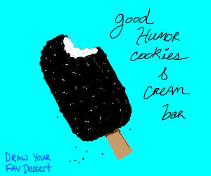 Draw your favorite dessert