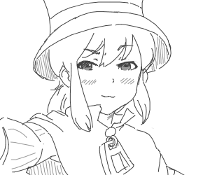 The girl from A Hat in Time