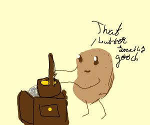 potato churns butter