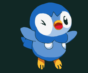 Cocky piplup
