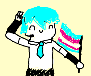 Hatsune Miku is a trans girl.