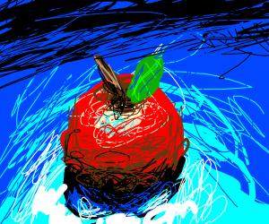 apple with gradient