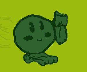 Cute Kirby running