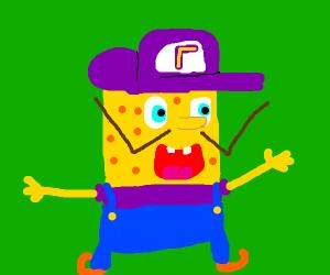 waluigi-spongebob