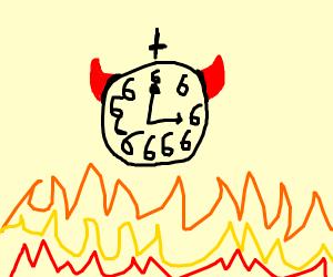 demon clock