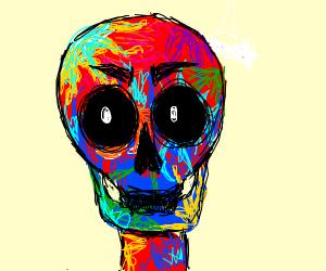 Colorful skall