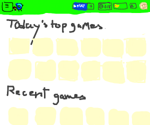 drawception game page