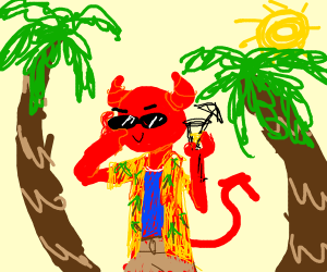 the devil on a island
