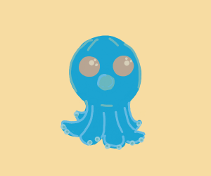 A very very VERY cute octopus <3