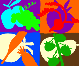 Abstract Vegetable