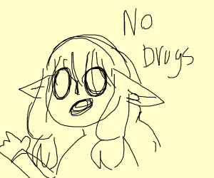 Commie elf says no to drugs