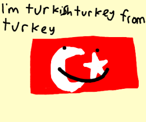 Turkish turkey from Turkey