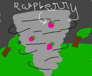 Raspberry in a Storm