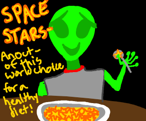 A healthy diet of stars
