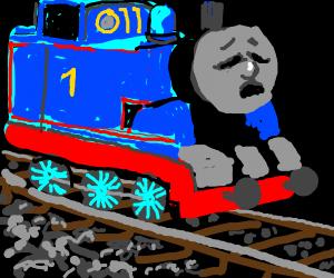 Poor Train Drawception