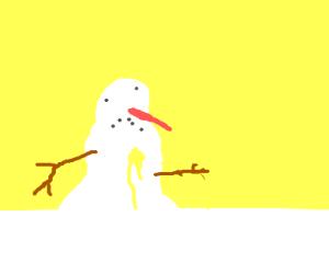 suffering snowman