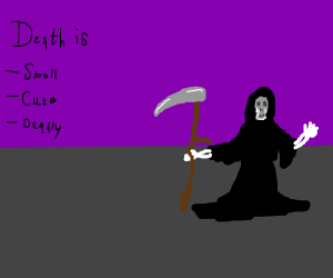 Cute Lil Grim Reaper