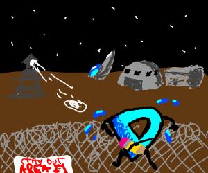 Drawception enters area 51