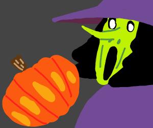 witch inhale pumpkin