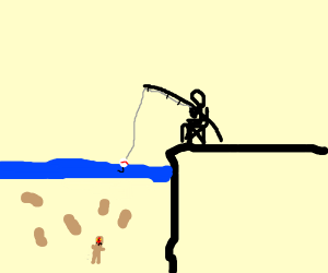Fishing for Peanuts