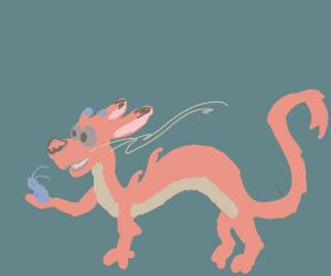Dragon from Mulan (Mishu?)