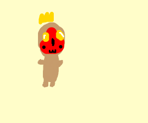 our lord the peanut (SCP-173) is pleased