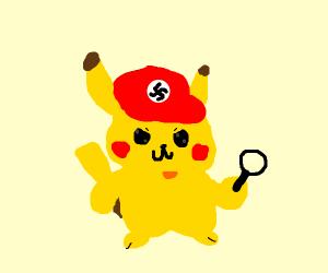 Pikachu the nazi detective