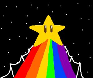 rainbow road marro cart