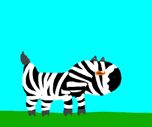 When a goat and a zebra have a baby...
