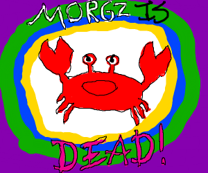 The celebration of Morgz's death