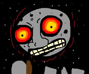 majora's mask moon