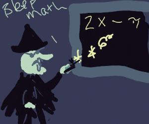 Witch Curses Math