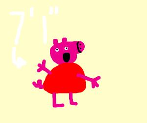 Peppa Pig Height