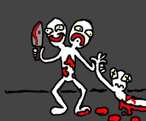 Two headed murderer
