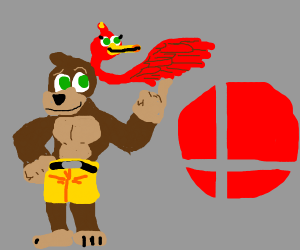 banjo is in smash