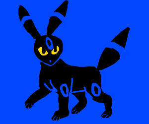 DRAWING COMPETITION! Shiny Umbreon (P.I.O)