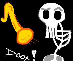 Spooky skeledoot