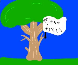 happy tree #teamtrees