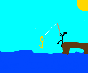 Fishing for a Key