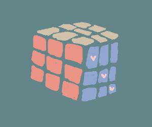 Cute Rubik's Cube