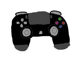 A PlayStation controller