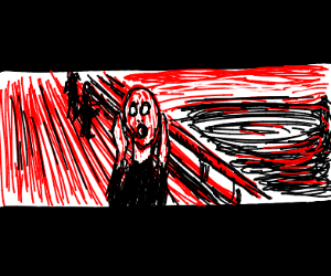 The Scream, gone wide screen