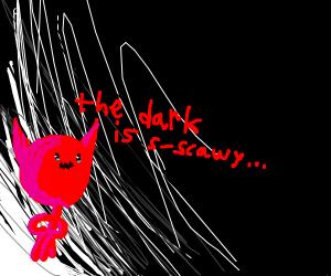 satan's scared of the dark