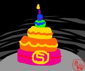5 year olds birthday cake!