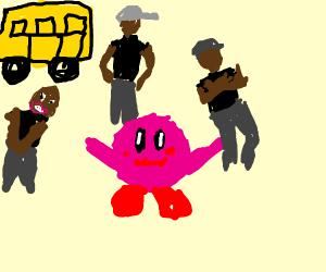 Kirby goes to a Kool School
