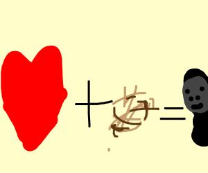 love + hair = Ape