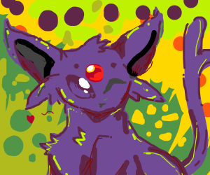 Espeon wink wonks at you