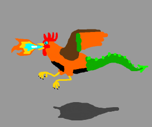 Rooster is a dragon