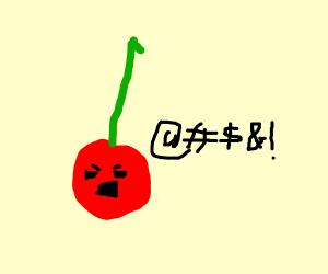 cursing cherry