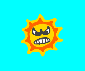 Le Angry Sun from SMB 3